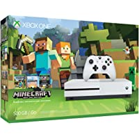 Microsoft Xbox One S 500GB Console Bundle with Minecraft + $50 Gift Card