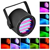 Litake Stage Lights 86 LED Par Lights, RGB DMX-512 Stage Lighting Projector Party Lights for Party Disco Show Pub KTV DJ Lights (Color: RGB, Tamaño: 1 Pack)