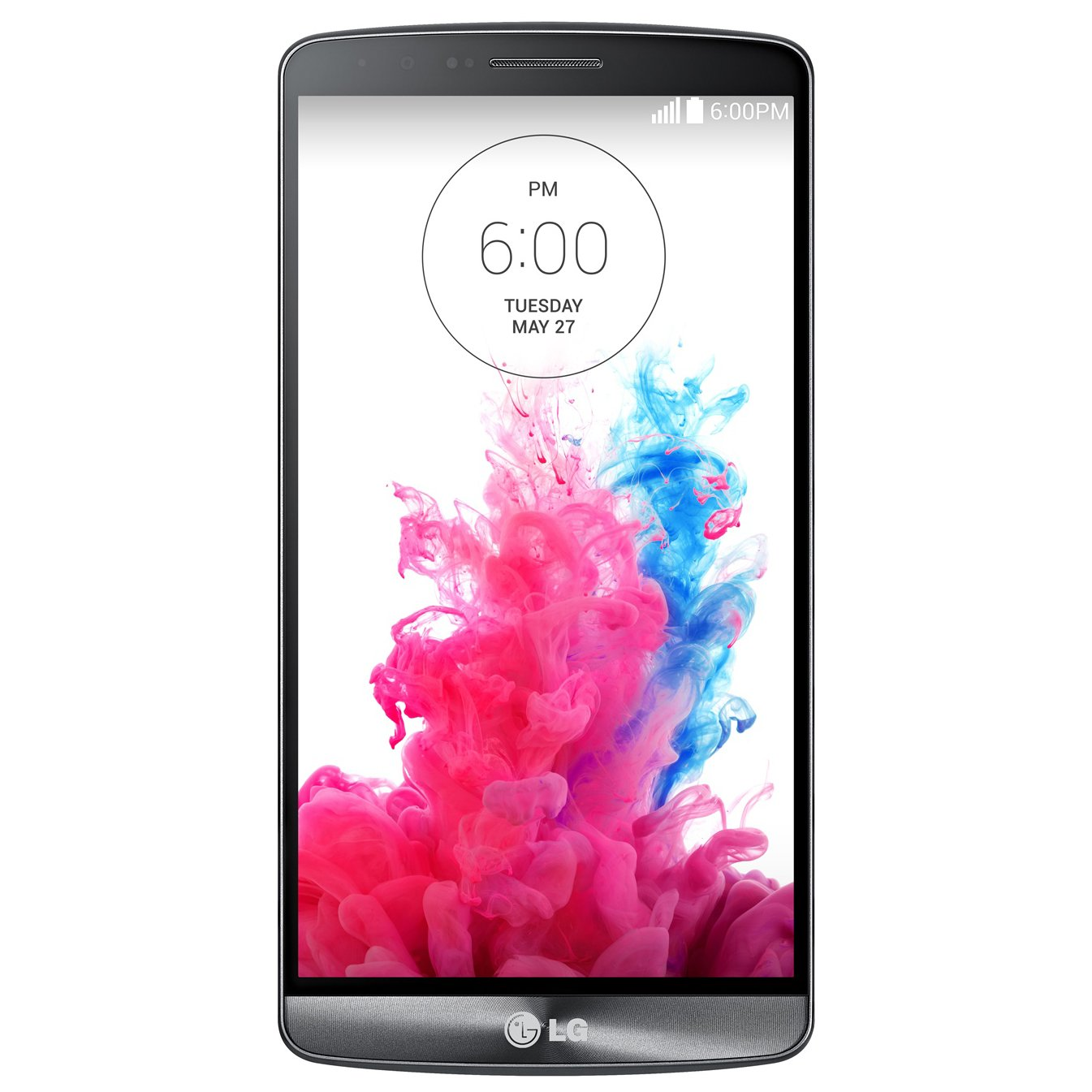 LG Wireless One LG G3 GSM Unlocked T-Mobile - Unlocked Cell Phones for - Retail Packaging - Metallic Black-Refurbished