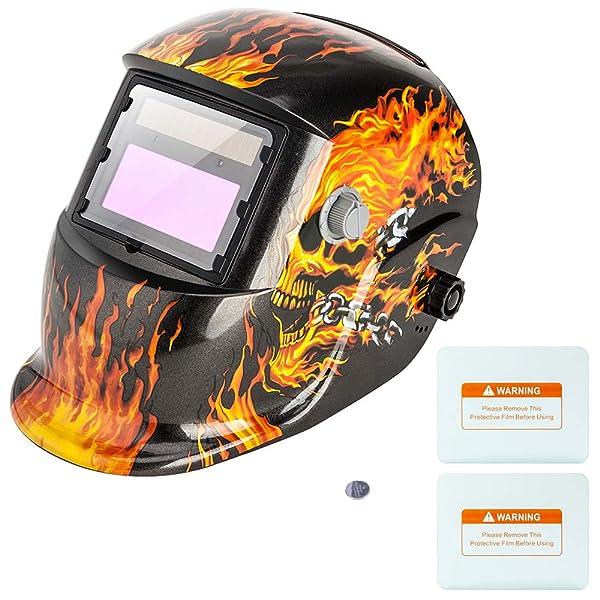 1010010 100 pack Harris Welding Helmet//Hood Clear Lens Cover 2 x 4.25