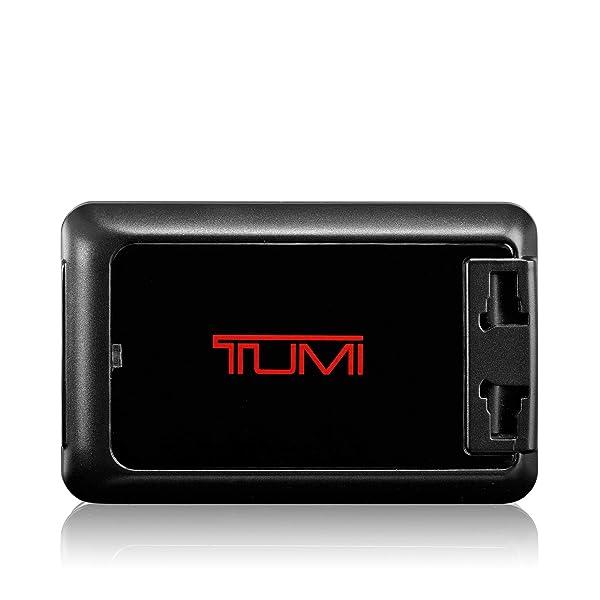 TUMI - 4 Port USB Electric Travel Adaptor Plug - International Universal AC Power Converter - Black (Color: Black, Tamaño: One Size)