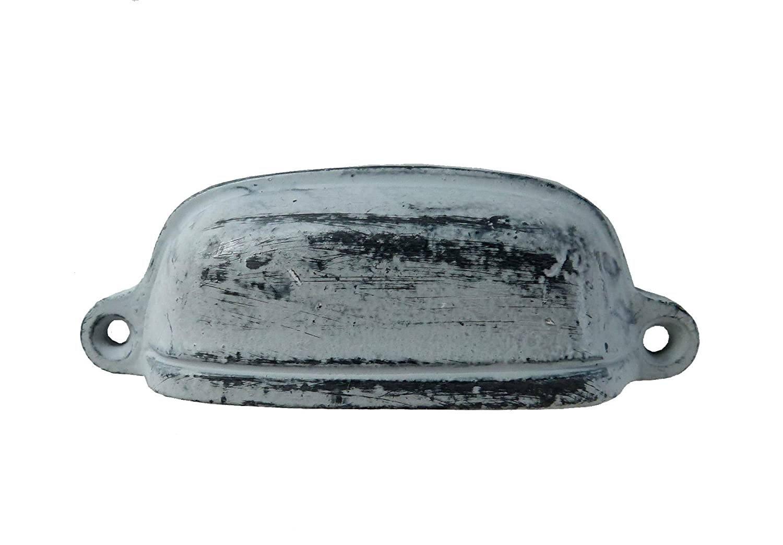 Metall Griff Apothekerschrank Möbelknauf grau ANTIK online bestellen
