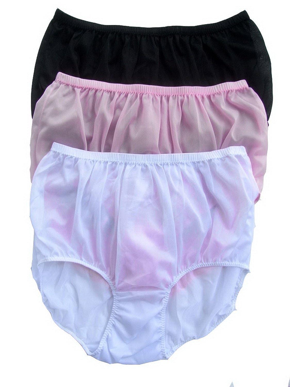 Höschen Unterwäsche Großhandel Los 3 pcs LPK32 Lots 3 pcs Wholesale Panties Nylon online bestellen