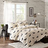 HipStyle Olivia 4 Piece Duvet Cover Set (Full/Queen)