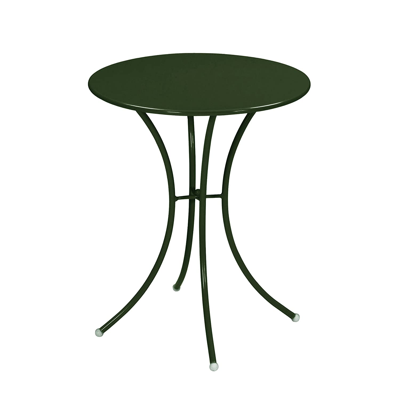 Emu 309058400 Pigalle Tisch 905, ø 60 cm, pulverbeschichteter Stahl, dunkelgrün