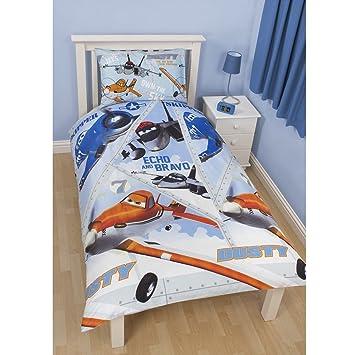 100/% coton Housse de couette taie doreiller 120 cm x 150 cm Parure de lit pour enfant Animaux de mer