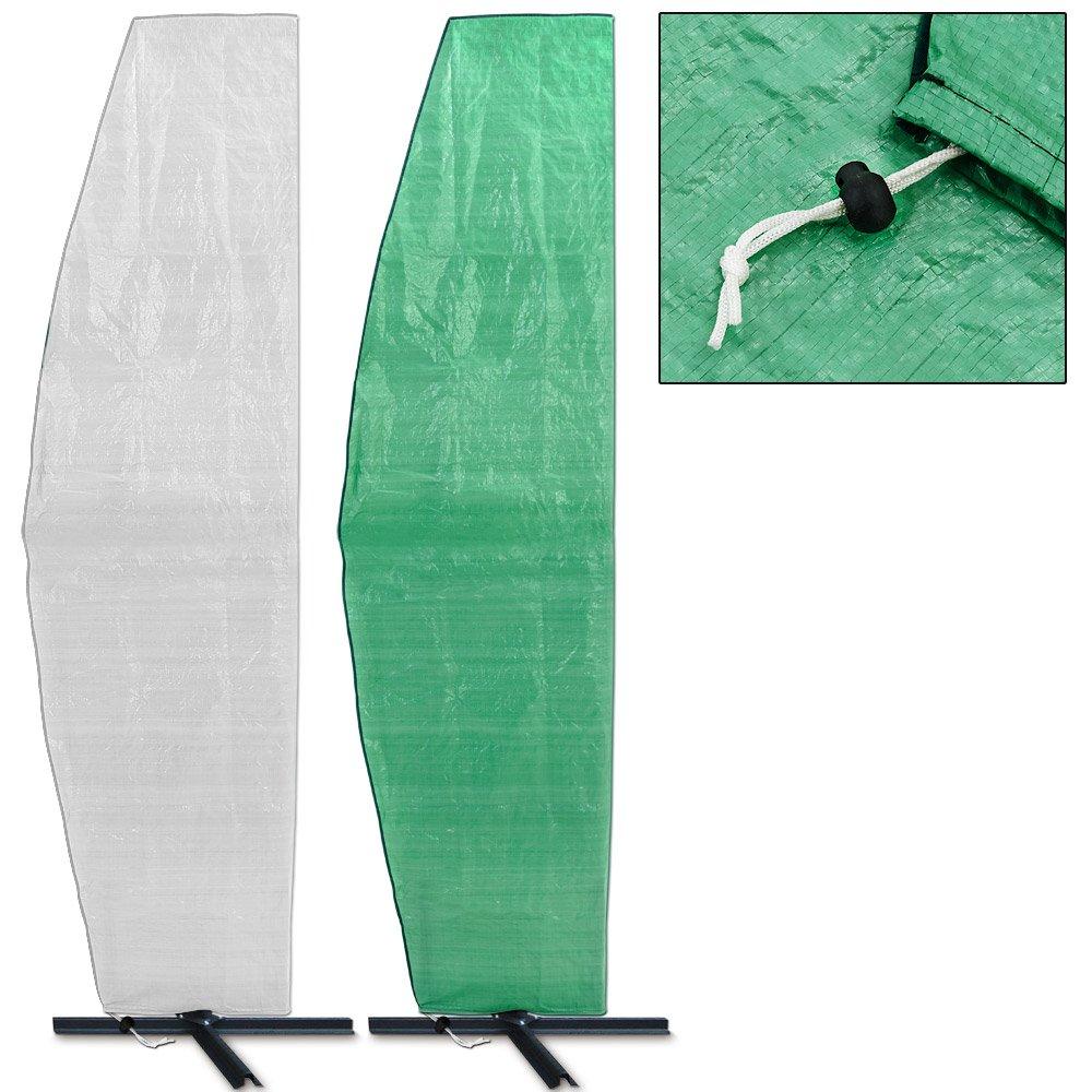 Schutzhülle Sonnenschirm Ampelschirm bis Ø 500cm Weiß jetzt bestellen
