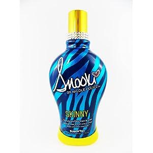 Snooki Skinny Dark Black Bronzer Frirming Indoor Tanning Bed Lotion width=