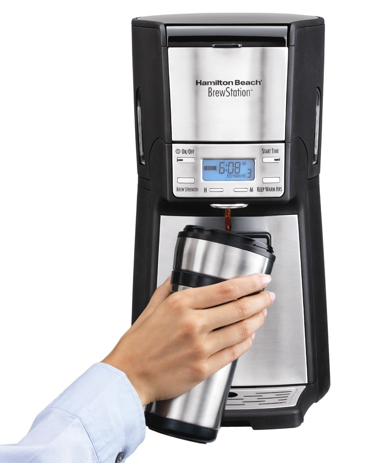 Hamilton Beach Coffee Maker 48465: 12 Cups for a Variety of Coffees