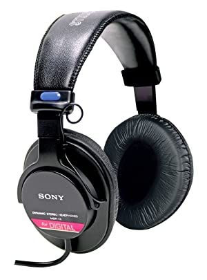 Auriculares monitor de estudio Sony MDRV6 con bobina de voz CCAW