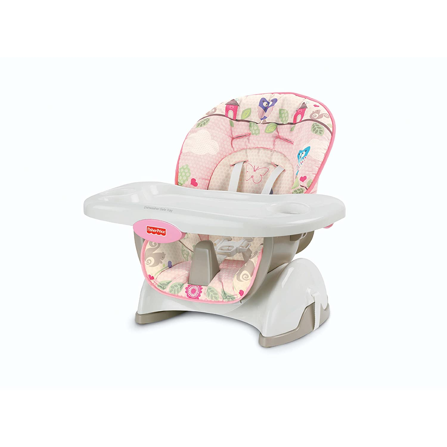 Fisher price silla para comer modelo mariposa pink 2012 for Silla fisher price para comer
