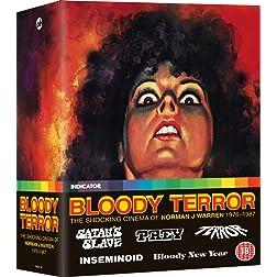Bloody Terror: The Shocking Cinema Of Norman J Warren 1976-1987 [Blu-ray]