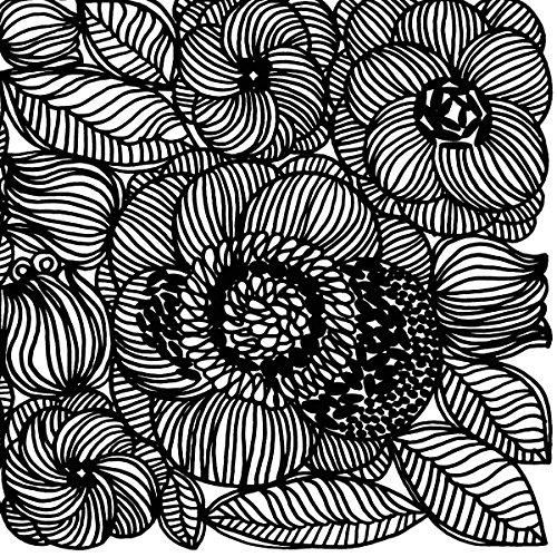 marimekko-fines-funda-kurjenpolvi-negro-linea-blanca-floral-de-lujo-tradicional-de-mesa-de-papel-ser