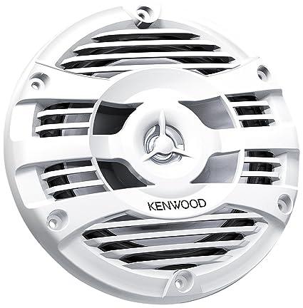JVCKenwood KFC-1653MRW Autoradio marine Blanc
