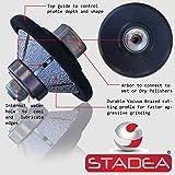 STADEA Diamond Profile Wheel / Profile Grinding Wheel 45 degree / Bevel 15 MM 9/16