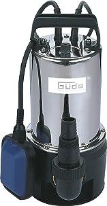 Güde 94629 GS 7500 I SchmutzwasserTauchpumpe  BaumarktRezension