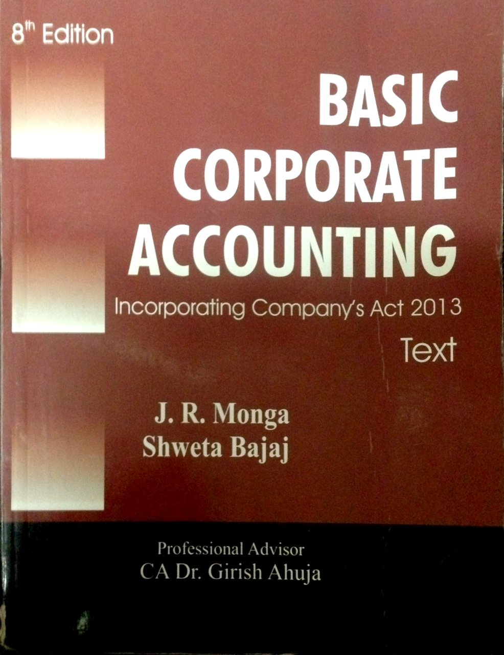 accounting assignments online best accounting online course resume  buy fundamentals of corporate accounting text and assignments basic corporate accounting 2 volumes