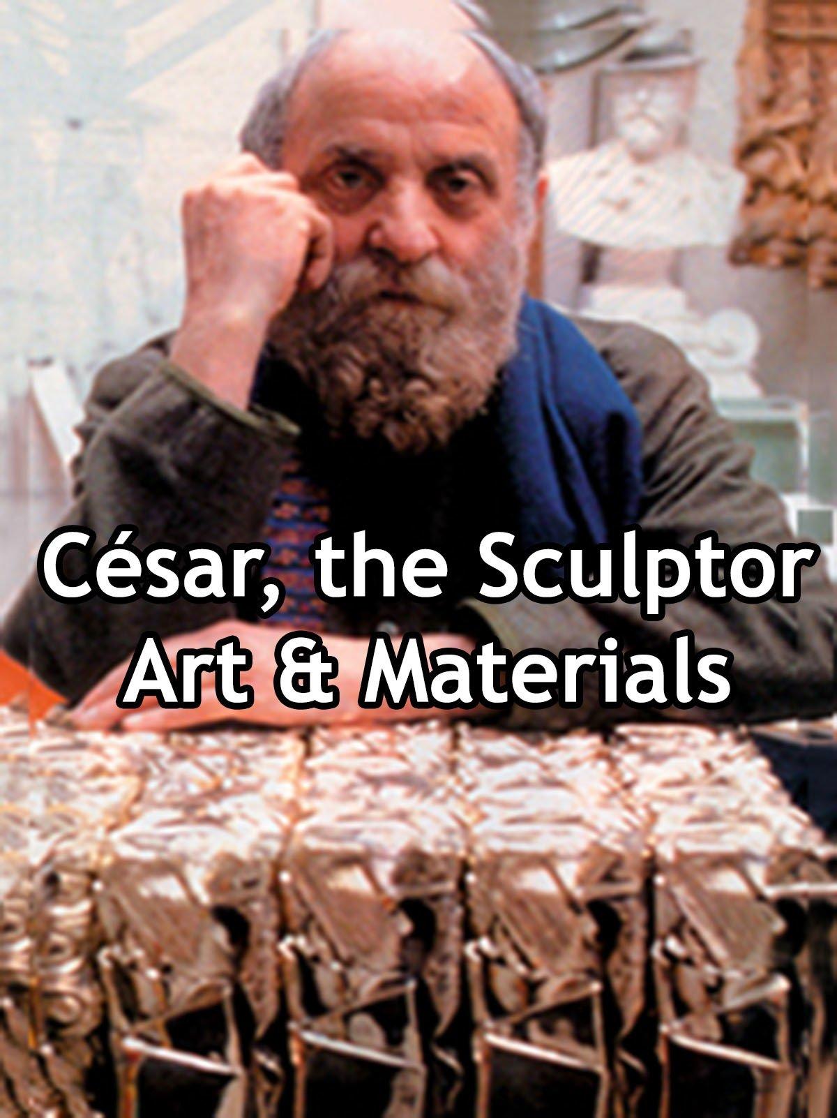 César, the Sculptor Art & Materials on Amazon Prime Video UK