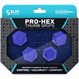 Sliq Gaming PS4 Pro-Hex Thumb Stick Grips - PlayStation 4 - Blue (Color: Blue)