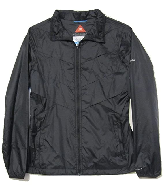 Columbia Women's Omni Heat Frostfecta Windbreaker Jacket Black