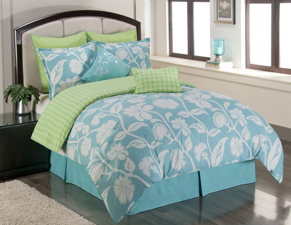 Tiffany Blue Bedspread