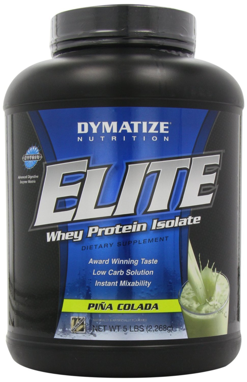 Dymatize Nutrition Elite Whey - 5 lb Pina Colada