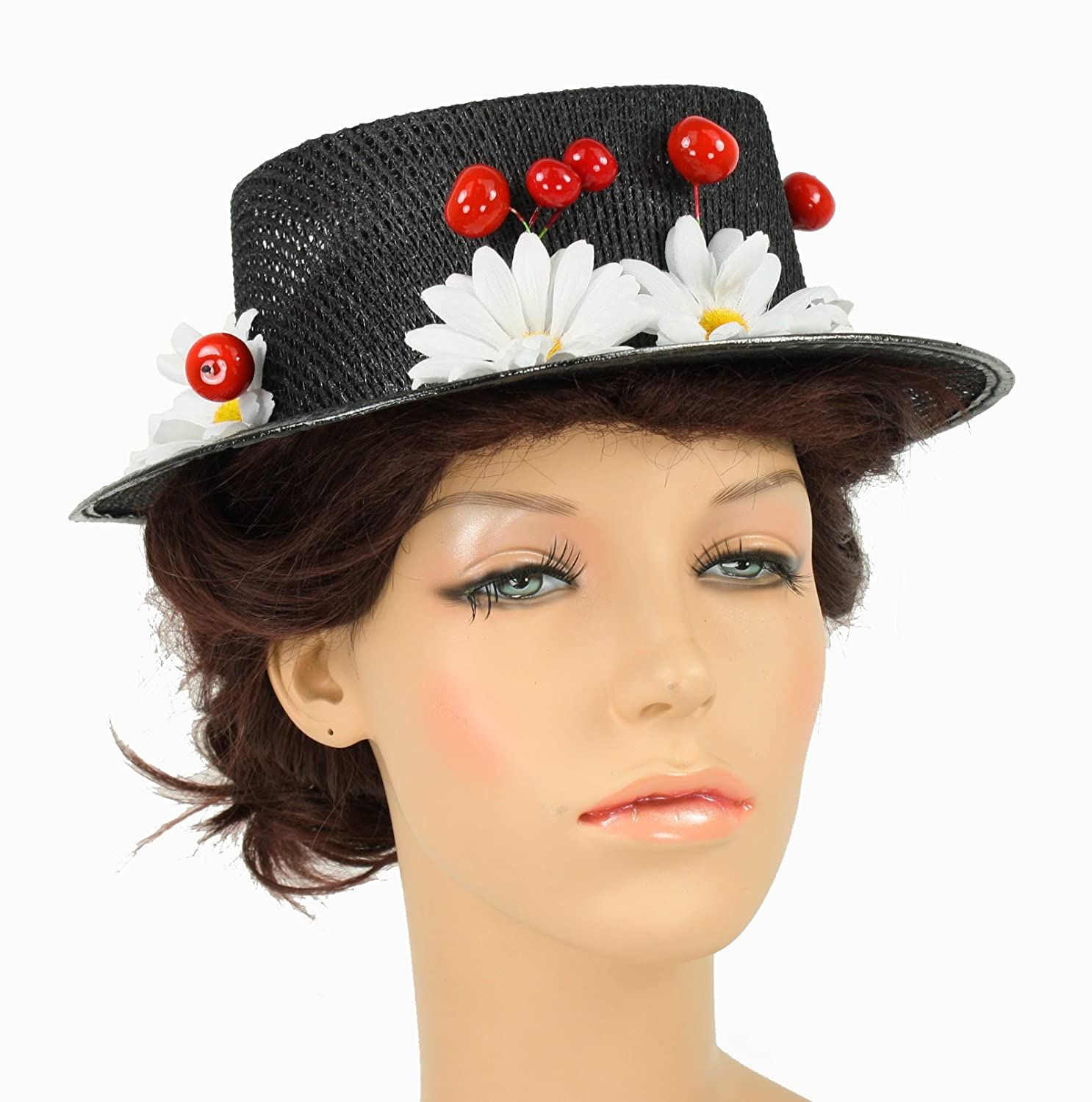 Mary Poppins Hat For Sale uk Women's Mary Poppins Hat With