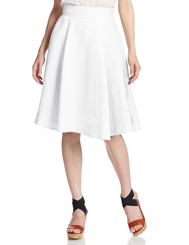 (スナイデル)snidel サイドボタンフレアーSK SWFS152199 2 OWHT F : 服&ファッション小物通販 | Amazon.co.jp