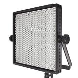 Fovitec  StudioPRO - 1x Bi Color 600 LED Panel - [Continuous][Adjustable Lighting][V-Lock Compatible][Stands Sold Separately] (Color: 600 Bicolor LED Panel)