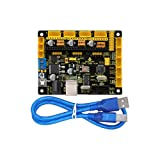 keyestudio Grbl CNC Controller Board with USB Cable, DIY CNC Grbl V0.9 Microcontroller for Laser Cutters, Automatic Hand Writers, Hole Drillers, Graffiti Painters and Oddball Drawing Machines (Color: MKS GEN 1.4)