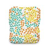Thirsties Natural One Size All In One Cloth Diaper, Snap Closure, Fallen Leaves (Color: Fallen Leaves, Tamaño: One Size)