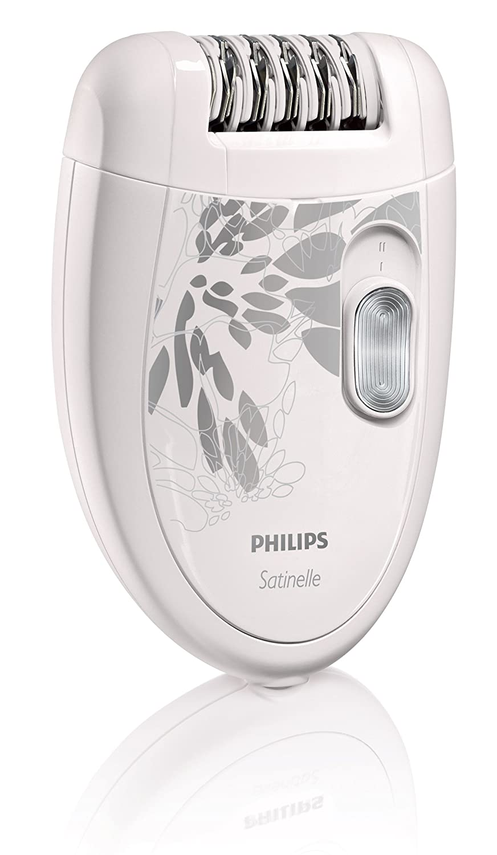 Philips Satinelle Epilator, White/Gray