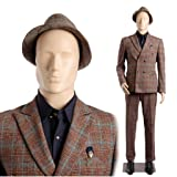 Abstract Standing Male Adult Mannequin + Base (MC-3F) (Color: Flesh, Tamaño: 73