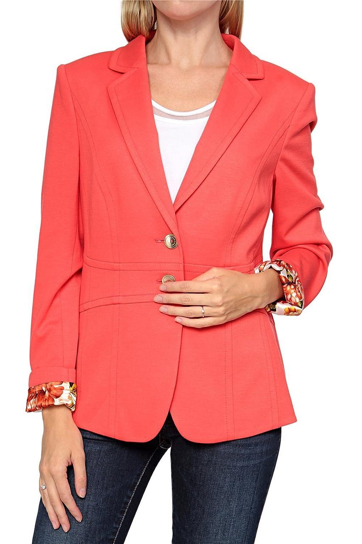 Basler Damen Blazer MODERN ART, Farbe: Rot online bestellen
