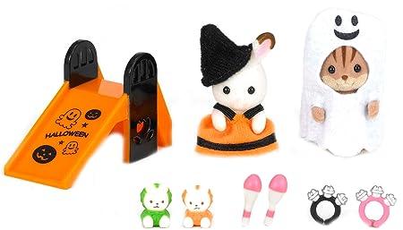 Sylvanian Families - 2229 - Mini-Poupée - Set Halloween