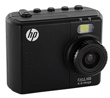 """HP AC-150 Caméra Full HD 1080P grand angle 142° avec écran 1,5 pouces, éclairage LED, caisson étanche 45 m (5 meg-1080P-1,5""""-142°)"""