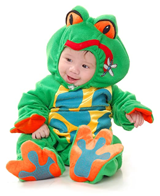 rainforest froggie kids costume