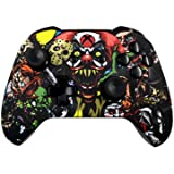 5000+ Modded Xbox One Controller for all Shooter Games - Soft Touch Shell - Added Grip for Longer Gaming Sessions - Multiple Colors Available (Scary Party) (Color: Scary Party)