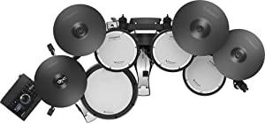 Roland TD-17KVX Electronic Drum Set Bundle with 3 Pairs of Sticks