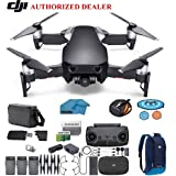 DJI Mavic Air Fly More Combo Drone - Quadcopter with 32gb SD Card - 4K Professional Camera Gimbal – 3 Battery Bundle - Kit - with Must Have Accessories (Onyx Black) (Color: Onyx Black, Tamaño: Mavic Air Flymore Combo)