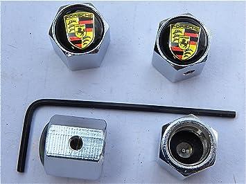 Lot de 4/x Bouchons de valve Dacia Chrome avec logo