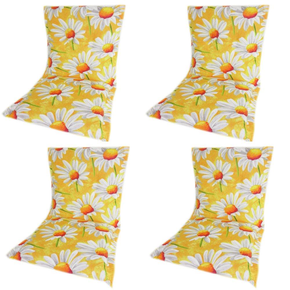 beo Niedriglehner BE123 Ascot NL Saumauflage für Niederlehner, circa 52 x 100 cm, 7 cm Dick, gelb online kaufen