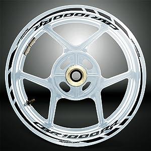 2 Tono Ametista Ruote Moto Cerchione Decalcomanie Accessorio Adesivi per Suzuki Katana