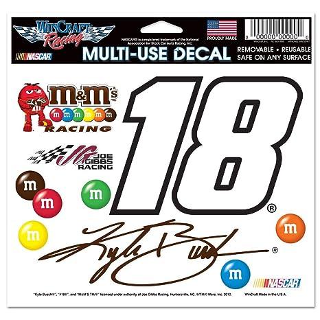 Kyle Busch Official NASCAR 4.5 inch x 6 inch