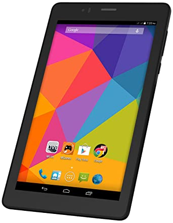 Micromax Canvas Tab P470 Tablet (7 inch, 8GB,Wi-Fi+3G+Voice Calling), Grey
