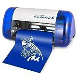 Mophorn Vinyl Cutter A4 Mini Vinyl Cutter Machine Desktop Sign Making Machine Cutting Plotter Laser Plotter Carving/Plotter Cuter Mini Vinyl Cutter Machine for t Shirts (Color: Style1, Tamaño: A4 Mini)