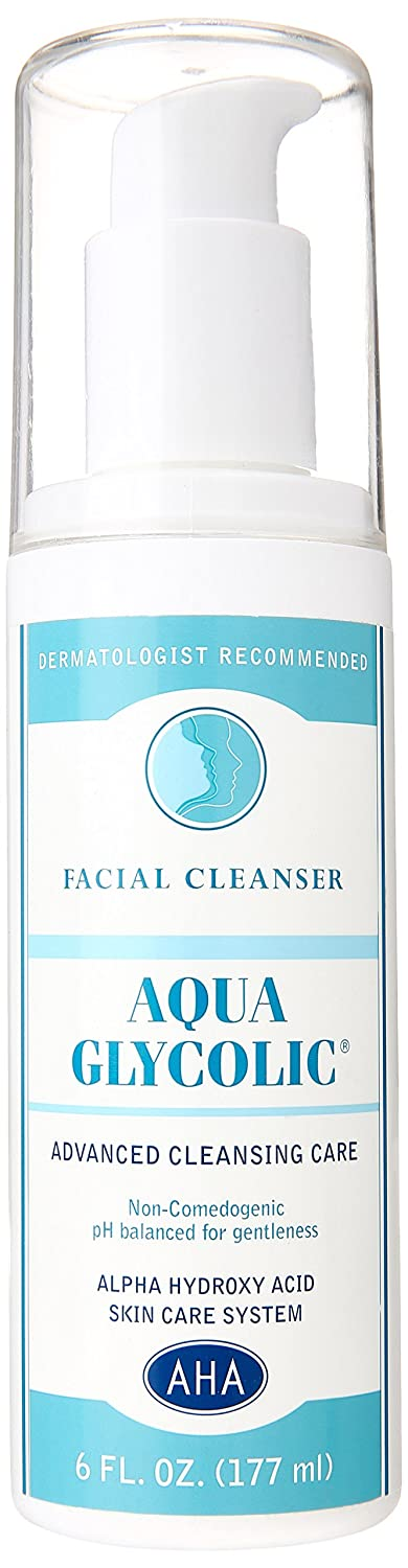 Amazon.com: Aqua Glycolic Facial Cleanser, 6-Ounce Bottles (Pack ...