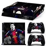 FriendlyTomato PS4 Console and DualShock 4 Controller Skin Set - Soccer Sport - PlayStation 4 Vinyl