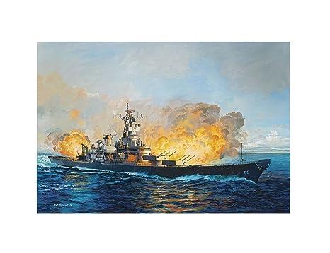 Revell Battleship U.S.S. New Jersey 1982Bateau Maquette Plastique