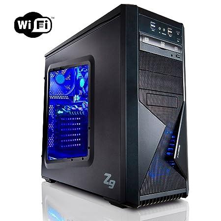 Megaport PC Gamer 8-Core AMD FX-8320E 8x 4,00 GHz Turbo • GeForce GTX1060 6Go • 16Go DDR3 • 1To • Windows 7 • WiFi • USB3.0 Unité centrale ordinateur de bureau pc gaming pc pas cher ordinateur gamer
